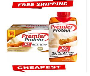 Premier Protein High Protein Shake, Caramel (11 fl. oz., 15 pk.)