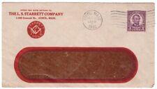 Envelope L S Starrett Co Athol Ma Tool Company 1932 Vintage  A