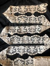 10 ydsx 4.1/2�Antique Hand Made Needle Lace Early 20thC-Min.3 Yard Purchase 1055