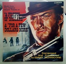 "Ennio Morricone‎– ""A Fistful Of Dollars� & ""For A Few Dollars More� 12� Vinyl Lp"