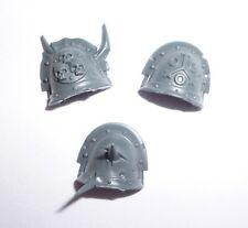 Death Guard Plague Marines Shoulder Pads x 3 – G1045