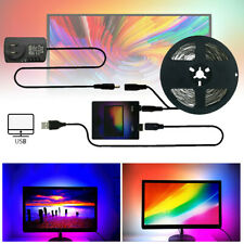Home DIY WS2812B USB LED Strip Tape TV Computer PC Dream Screen Backlight Kit A