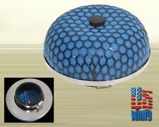 """Mushroom Studdy Short Intake Filter 2.5 / 3"""" Blue for Civic Delsol Crx Integra"""