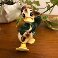 Vintage Japan Donald Duck Davy Crockett Figurine