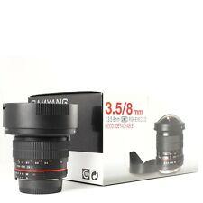 Samyang 8mm F3.5 Aspherical IF MC Fisheye per Nikon DX