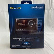 Sirius XM XDNX1V1 Onyx Dock & Play Satellite Radio W/ Car Vehicle Kit