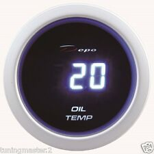 Calibrador de presión Herramienta 52mm DEPO Temperatura Aceite 20-150°C Digital