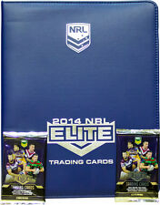 NRL 2014 RUGBY LEAGUE - Elite Official Trading Card Collector Album #NEW