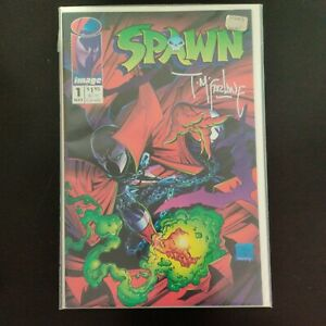 Spawn no# 1 signed by Todd Mcfarlane