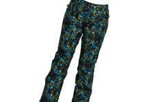 686 Girls Meadow Snowboard Pant (M) Iris Floral Camo