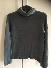 Gap Ladies Grey Polo Neck Jumper Size M
