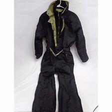 Fera skiwear Vintage one piece women's ski suit size 10 black