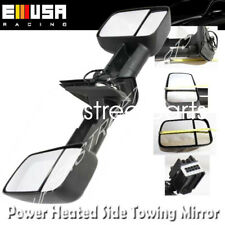 Side View Mirrors Power Heated for Chevy 07-13 SIlverado 1500/2500 HD