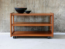 60er SALIN TEAK HIFI RACK BEISTELLTISCH DANISH VINTAGE 60s SIDE TABLE 70er 70s