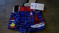 M&S Baby boys SPF 40+ Swim nappy  sea life Age  6-9 months 20lbs bnwt **
