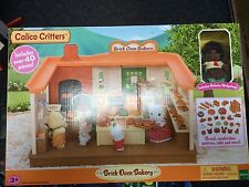 Calico Critters CC1723 Brick Oven Bakery New in Box!
