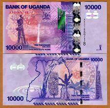 Uganda, 10000 (10,000) Shillings, 2013, P-52c, UNC
