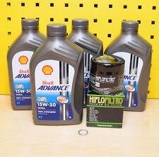 TRIUMPH Filtro de aceite Shell Advance Ultra 15w50 totalmente sintético