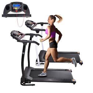 1100W Portable Electric Treadmill Folding Motorized Machine Running Gym Fitness