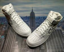 Nike Air Force 1 High '07 LV8 1 White/Vast Grey Size 12 Low Mid AO2442 100 New