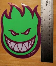 x 1.1 in Decal SPITFIRE GREEN TINY STICKER Spitfire Classic Bighead 1.5 in