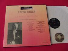 3 LP BOX MOZART Fritz Busch Le Nozze Di Figaro Metropolitan 1949   NM