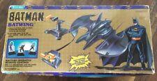 Vintage Batman Movie Batwing Remote Control 1980s Brand New DC Comics Blue-box