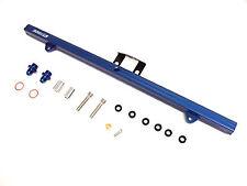 OBX Blue Aluminum Fuel Rail Fit 99 00 01 02 Nissan Skyline 2.5L R34 RB25DET ER34