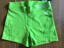 Ladies Nike Pro Hypercool Series Dri Fit Shorts Size Medium