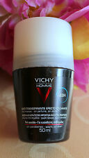 VICHY HOMME-MEN DEODORANT ANTI-TRANSPIRANT 48h FOR SENSITIVE SKIN ROLL-ON, 50 ml