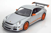 PORSCHE 911 GT3 RS ORANGE/SILVER 1:18 SCALE MODEL NICE DETAIL DIECAST BRAND NEW