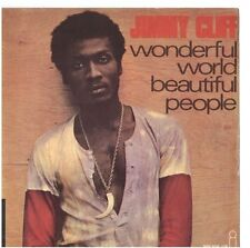 JIMMY CLIFF - WONDERFUL WORLD -  SOLO COPERTINA - ONLY COVER - EX