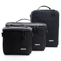 Camera Bag Lens Insert Carry Case Pouch Partition For DSLR SLR Canon Nikon Sony