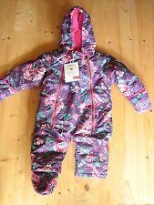 Joules Floral Girls' Coats, Jackets & Snowsuits (0-24 Months)