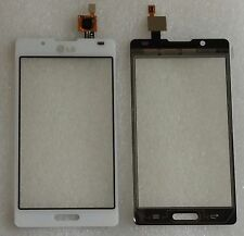 Touch Touchscreen Vetro Digitizer Flex Bianco per LG Optimus l7 p710 p713
