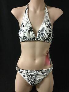 Seafolly Swimwear Designer Floral Bikini Bathers 14 New