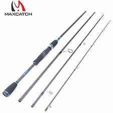 """8'9""""Spinning Rod 2.7M Graphite Travel Fishing Rod 4Pieces saltwater Rod"""