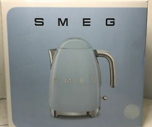Smeg KLF03PBUS 7-cup Electric Fixed Temperature Kettle, Pastel Blue $215