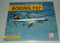 Wolfgang Borgmann Flugzeugstars Boeing 737 Bildband Buch Motorbuch Neu!