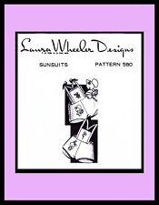 SUNSUIT PLAYSUIT Sewing Pattern Wheeler 580 Pattern BABY GIRL BOY Child ~1-2-3-4