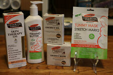 Lot of 5 Palmer's Cocoa Butter Products Firming Butter Soap Oil Masks Balm +More