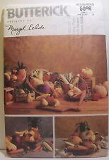 Butterick Craft Sewing Pattern 5086 Margit Echols Corn Squash Pumpkin Pear Apple