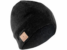 Callstel Bluetooth Beanie-mütze mit integriertem Headset schwarz