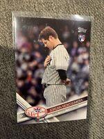 2017 Topps Update Image Variation SP US91 Jordan Montgomery Short Print Yankees