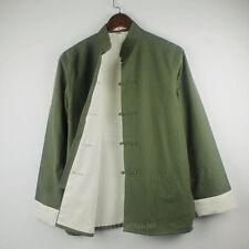 100% Cotton Double thick Kung Fu Tai chi Bruce Lee clothing Uniforms Jacket coat