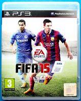 FIFA 15 - PS3 PLAYSTATION 3, PAL UK, FREE 1st CLASS POST - Football Soccer 2015