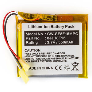 Li-Polymer Battery for SanDisk Sansa Fuze Media Player 2GB 4GB 8GB CS-MPSF350SL