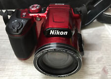✅ Nikon COOLPIX B500 Digital Camera , 16MP, 40x Optical Zoom Red (for parts )