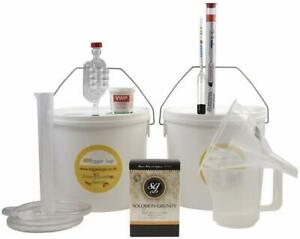 Starter Wine Making Set - 6 Bottle Size With Equipment - Country Wines Home Made