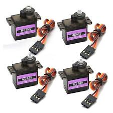 4x MG90S Metal Gear Micro Servo 2.5KG for RC Airplane Trex 450 Helicopter Car